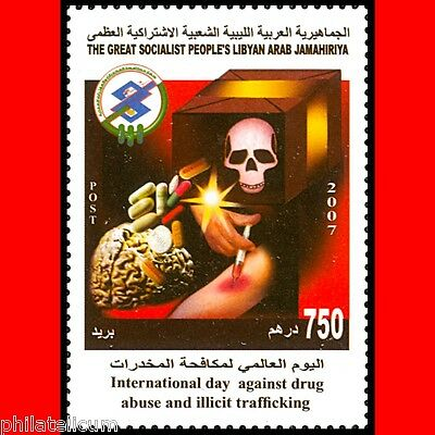LIBYA - 2007 Health Medicine Drug Drugs (MNH)