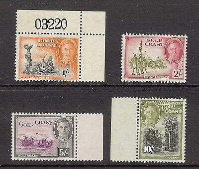 Gold Coast 1948 Top 4 values, SG 143 - 146. MLH