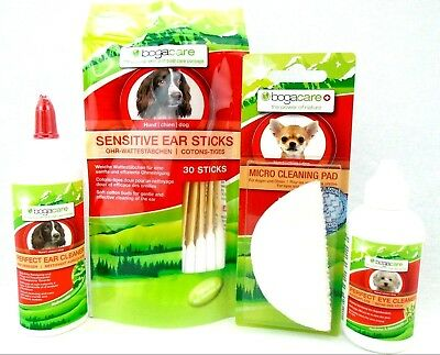 NEW Dog Ear Cleanser, Eye Cleanser, Eye Ear Cleaning Pads, Ear Cleaning Buds NEW