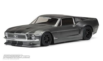 Protoform 1968 Ford Mustang Vintage Trans-Am Racing Body (Clear) - PRM1558-40