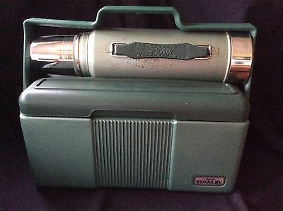 Vintage Stanley Thermos and Lunchbox/Cooler
