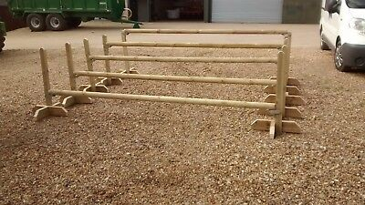 Set of 5 horse/pony jumps with jump poles NEW. Delivery may be available