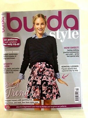Burda Style Magazine 10/2017 - 41 Patterns & Variations, ALL TOO MUCH TO MENTION