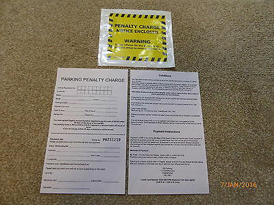 5 Joke Fake Parking Tickets - Very Realistic Top Prank (penalty charge )