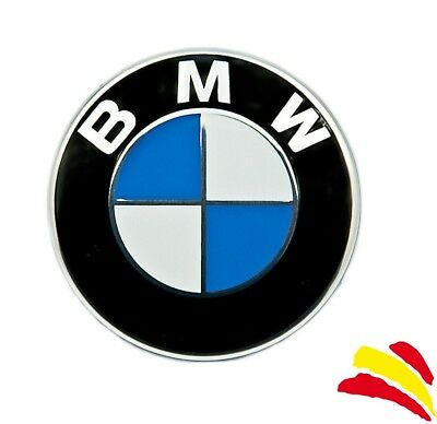 BMW Emblema 82mm & 74mm51148132375 / logo pines capo maletero insignia Serie OEM
