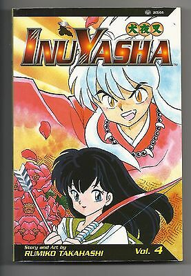 InuYasha Vol. 4 by Rumiko Takahashi ISBN  1-56931-961-8 PAPERBACK 2003 186 pages