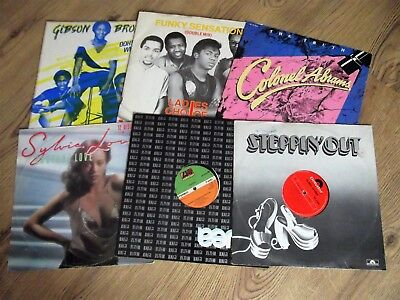 """Job Lot 6 Records   - 12""""   80S Grooves - Disco / Funk   - Nice Collection!"""