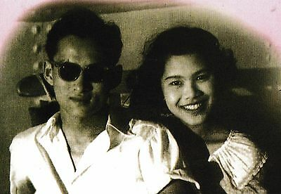postcard post card THAILAND ROYALTY King Bhumibol Queen Sirikit young couple #71