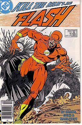 THE FLASH #4 (FN-) 1987 2nd Series