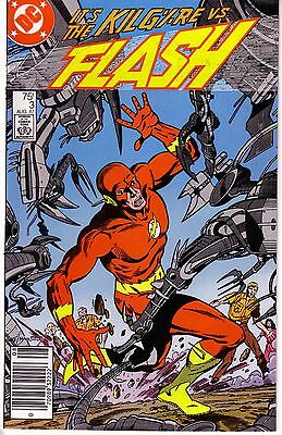 THE FLASH #3 (FN-) 1987 2nd Series