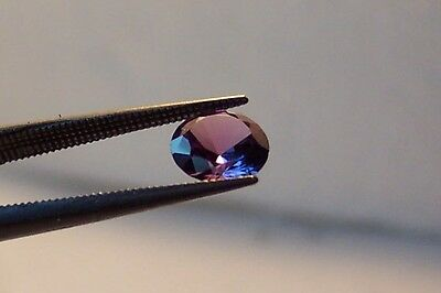 lab created stunning 10 mm round  Alexandrite  faceted color change carat 3.00