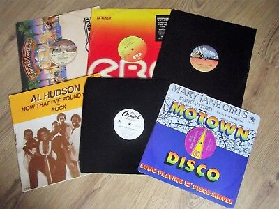 """Job Lot 6 Records   - 12""""   80S Grooves - Disco / Soul  - Nice Collection!"""