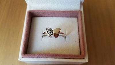 Pandora Fluttering Butterfly Ring. Sterling Silver  S925 ALE