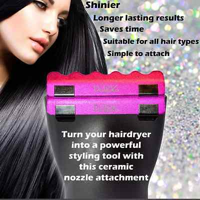 Daroko Power Styler - Ceramic Hair Dryer Clips to Make Hair Smooth & Shiny
