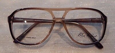 Marchon Blue Ribbon BR32 Brown Fade (037) 56/14 Eyeglass Frame NOS       #212