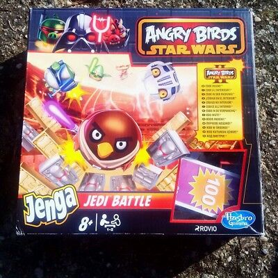 Hasbro Star Wars Angry Birds Jenga ‎Jedi Battle