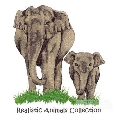 Realistic Animals Collection - Machine Embroidery Designs On Cd