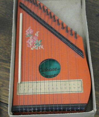 vintage origenal box and paint finis ZITHER