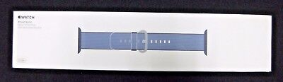 *SEALED* Apple Watch Woven Nylon Band 42mm, Navy/Tahoe Blue MP232AM/A