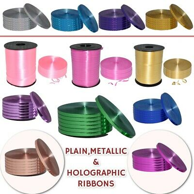 100 metres florist poly ribbon - 5MM wide - NEW MASSIVE COLOUR SELECTION STOCKED