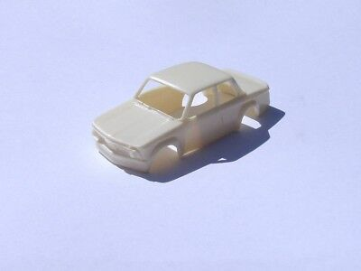 custom resin bmw 2002 t-jet ho slot car body