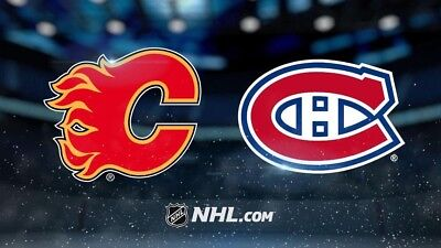 2 Tickets 313CC Montreal Canadiens vs CAL Flames, December 7, 2017, Bell Center