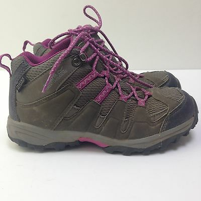 Regatta Girls Hiking Boots Breathable Garsdale Mid Junior Walking Shoes Size 2