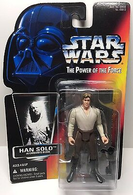 STAR WARS - Power of the Force:  Han Solo in Carbonite Block - 1996