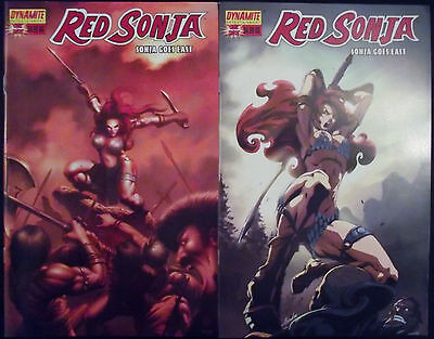 RED SONJA: SONJA GOES EAST 0A,0B...2006...NM-...Ron Marz,Joe Ng...Bargain!
