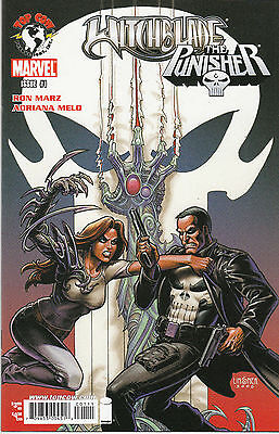 WITCHBLADE PUNISHER...NM-...2007...Ron Marz,Adriana Melo...HTF Bargain!
