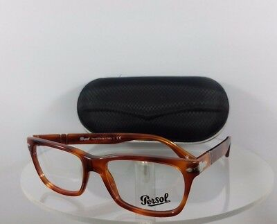 339116a66a8 Brand New Authentic Persol Eyeglasses 3078 V 96 Terra di Siena Light  Tortoise