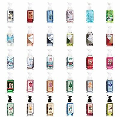 Bath and Body Works Gentle Foaming Hand Soap NEW FALL 2017 SCENTS
