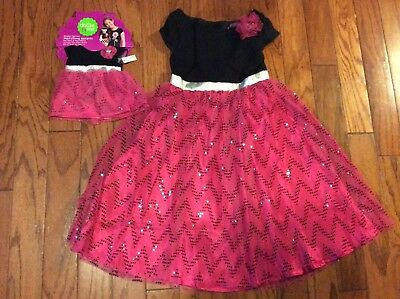 Dollie and Me Girls Chevron Dress with Matching Doll Outfit Size 10 NWT