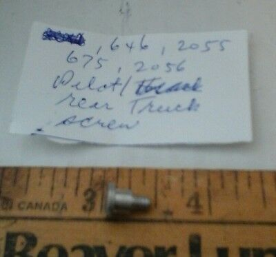 Lionel  646,2055,675,2056 etc., trailing truck screw postage incl.a handling cha