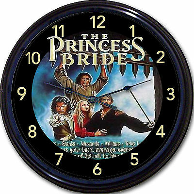 The Princess Bride Movie Patinkin Romance Wall Clock Classic Fairy Tale Reiner