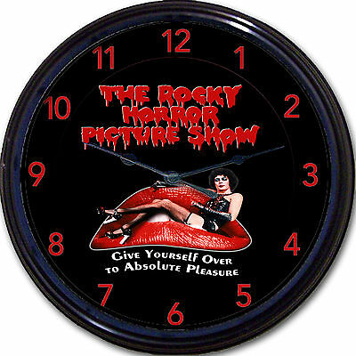The Rocky Horror Picture Show Movie Wall Clock Cult Classic Vintage New 10""