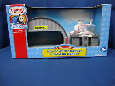 Brand New in boxThomas & Friends TrackMaster Harold Helicoptere at the Hangar