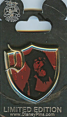 DLR Surprise Pin Series Crest Collection Captain Hook Pin