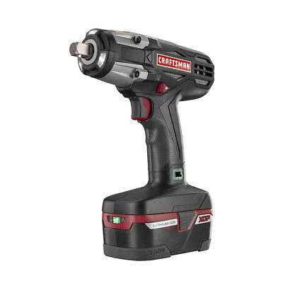 Craftsman C3 1/2 Inch Chuck Heavy Duty 19.2 Volt Cordless Impact Wrench Kit