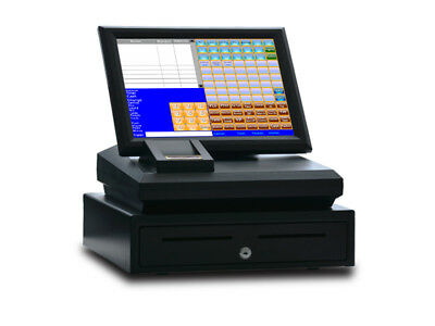 "15"" Cash register Touch Screen including POS software"