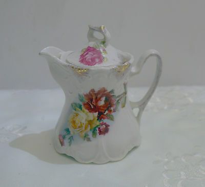 Vintage, Small, Porcelain, Chocolate Pot (Server) Could Be Single Serve Teapot