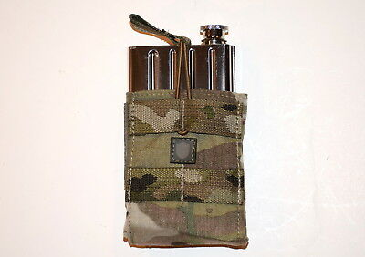 Knights Amrament Sr25 Kac Promo Flask With Camo Tactical Molle Carrier Sr15 Sr30
