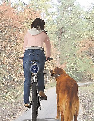 dog&roll Automatic Dog Lead For Bike Bicycle Holder Dog