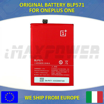BATTERIA BATTERY ORIGINALE BLP571 3100 Mah ONEPLUS ONE A0001 1+ One