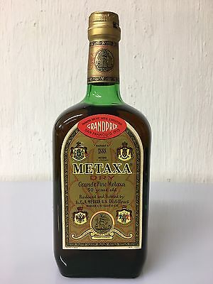 Metaxa 50 Years Old Grande Fine Dry Brandy Greece Rare Edizione