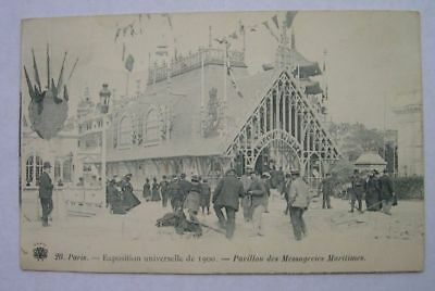CPA : EXPOSITION UNIVERSELLE 1900 messageries maritimes