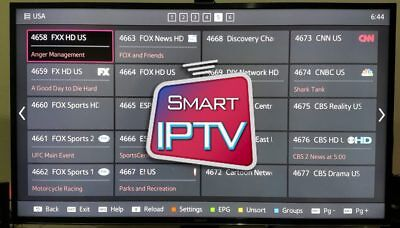 1 Month Iptv Subscription  (4500+ Channels + Vod) Smart Tv, Kodi, Vlc + More