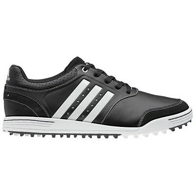 New Adidas III Mens Golf Shoes Black/White All Sizes Now less than half price