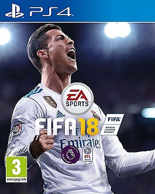 FIFA 18 (PS4) PlayStation 4 New Sealed Fast Post