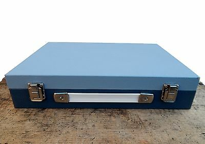 Vintage Storage Carry Case for 180 x Photographic Photo Slides 35mm Mid Century